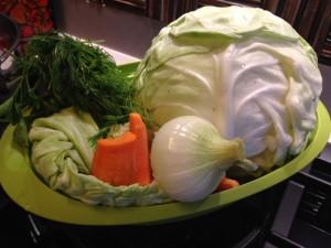 Еще овощи для борща
