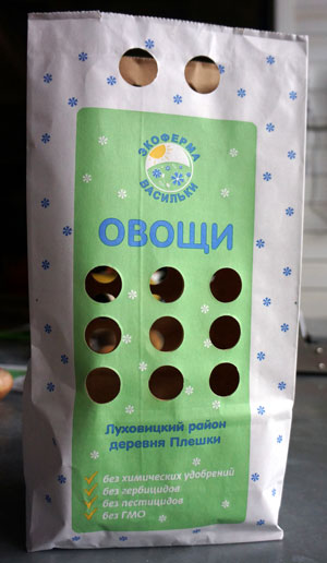 Упаковка картофеля